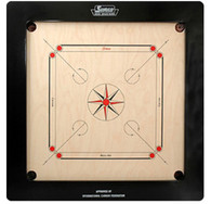 "Surco Champion Carrom Board Size 37"" X 37"" 20MM English Ply"