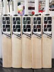 2019 SS White Edition Black Grade 1 English Willow Cricket Bat.