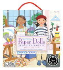"Eeboo's ""Artist & Musician Paper Dolls"" PDPARI"
