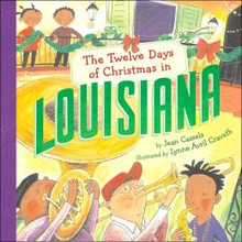"""""""Twelve Days of Christmas Louisiana"""" Hardcover by Jean Cassells"""