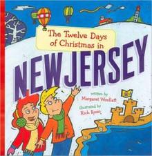 """Twelve Days of Christmas in New Jersey"" Hardcover by M Woollatt"