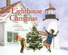 """Lighthouse Christmas"" Hardcover by Toni Buzzeo"