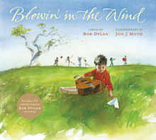 """Blowin' in the Wind"" Hardcover by Bob Dylan"