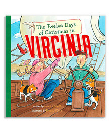 """The Twelve Days of Christmas in Virginia"" Hardcover By Sue Corbett"