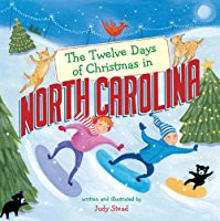 """The Twelve Days of Christmas in North Carolina"" Hardcover by Judy Stead"