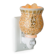 Gilded Glass Plug-In Warmer
