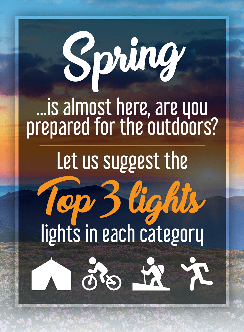 AdHigh Quality Lighting for all Outdoor Enthusiasts. Save Now!