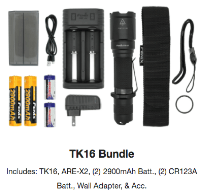 Fenix TK16 LED Flashlight