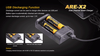 Fenix ARE-X2 Dual Channel Smart Charger 6