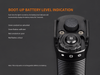 Fenix TK35 Ultimate Edition Tactical LED Flashlight 2018 Edition tail switches