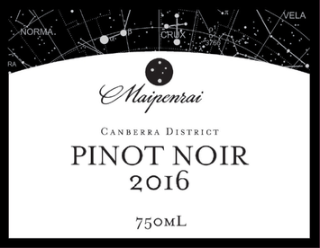 2016 Maipenrai Pinot Noir - 750ml -SOLD OUT