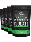 4  x  All Natural New Zealand Whey Protein Isolate ( NEW!! )