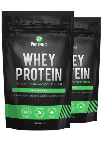 2 x Whey Protein (Made with New Zealand)