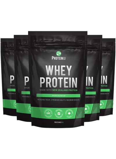 5 x Whey Protein (Made with New Zealand)