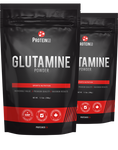 2 x Glutamine Powder