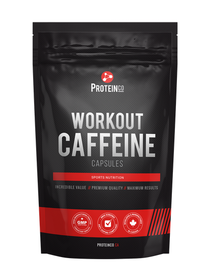Workout Caffeine 500 Capsules