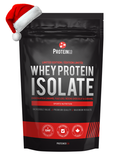 Limited Edition - Whey Protein Isolate 2lbs - Choco Caramel Yule Log