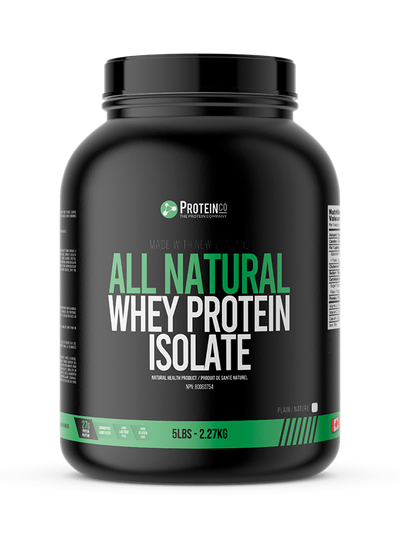 All Natural New Zealand Whey Protein Isolate