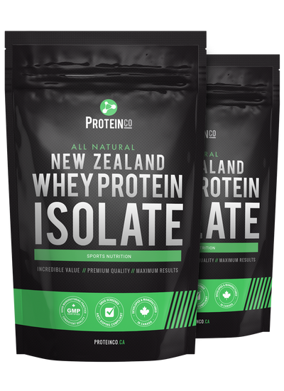 2  x  All Natural New Zealand Whey Protein Isolate ( NEW!! )