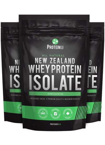 3  x  All Natural New Zealand Whey Protein Isolate ( NEW!! )