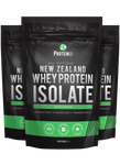 3  x  All Natural New Zealand Whey Protein Isolate