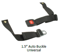 "1.5"" Auto Buckle Universal Positioning Belt"