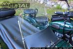 Sidecar Windshield Assembly for 2012 & Older