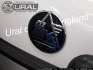 Ural Fuel Tank Logo (Aluminium W/Porcelan)