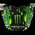 MC Monster Green/Black