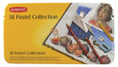 Derwent Pastel Collection - Tin Set 38 Mixed Pastel Materials