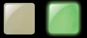 Glam and Glits Powder 1oz - GLOW ACRYLIC - GL2002  DE-LIGHTED (CREAM)