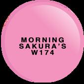WaveGel Matching S/O Gel & Nail Lacquer - MORNING SAKURA'S .5oz W174