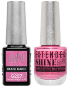 Gel II + Matching Extended Shine Polish, BEACH BLUSH #G227 - #ES227