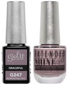 Gel II + Matching Extended Shine Polish, GRACEFUL #G247 - #ES247