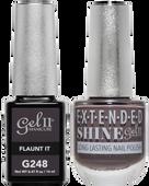 Gel II + Matching Extended Shine Polish, FLAUNT IT #G248 - #ES248