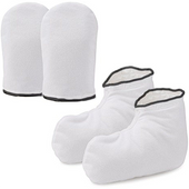 Terry Cloth Booties or Mitts (On Sale)