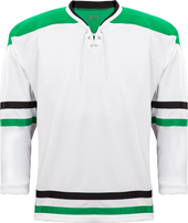 K3G Pro Dallas White Goalie Jersey