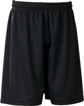 Black Kobe Sportswear FastBreak KST Adult Shorts | Blanksportswear.ca