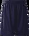 Navy Kobe Sportswear FastBreak KST Adult Shorts | Blanksportswear.ca