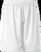 White Kobe Sportswear FastBreak KST Adult Shorts | Blanksportswear.ca