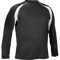 Black/White Kobe Sportswear Aggression Athletic Long Sleeve Adult Shirt | Blanksportswear.ca