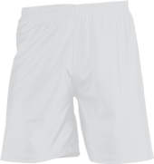 White Kobe Sportswear Attack Dazzle Unlined Youth Short | Blanksportswear.ca
