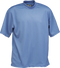 French Blue Kobe Sportswear Classic Short Sleeve Mock Neck Adult Shirt | Blanksportswear.ca