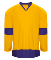 K3G Los Angeles Gold Goalie Home Hockey Jersey