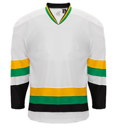 K3G Minnesota White Adult Home Hockey Jersey
