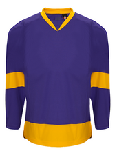 K3G Los Angeles Purple Away Goalie Hockey Jersey