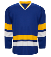 K3G Charlestown Blue Away Goalie Hockey Jersey