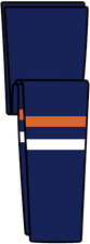 NY Islanders Away Hockey Socks