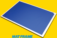 "Tacky Mat Frame for 24""x36"" Mat"