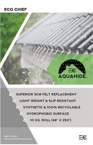 AQUAHIDE-SWU Underlayment 10sq Roll = 1000Sq ft